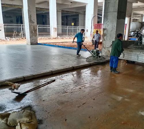 混凝土金刚砂地坪施工